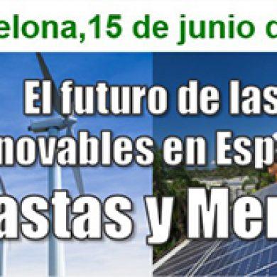 JORNADA APPA EN BARCELONA – EL FUTURO DE LAS RENOVABLES EN ESPAÑA: SUBASTAS Y MERCADO
