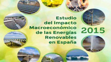 Estudio APPA del Impacto Macroeconómico de las Energías Renovables en España en 2015