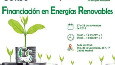 Curso de Financiación en Energías Renovables – II Edición
