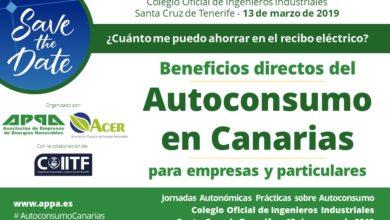 Jornada Gratuita sobre Autoconsumo en Tenerife