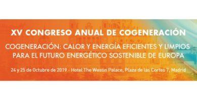 XV Congreso Anual de Cogeneración