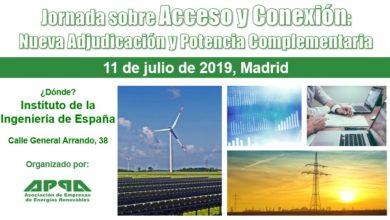 Jornada sobre Acceso y Conexión: Nueva Adjudicación y Potencia Complementaria