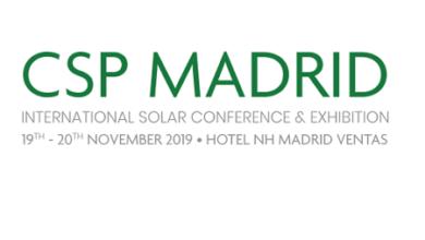 CSP Madrid International Solar Conference & Exhibition 2019