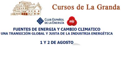 Cursos de La Granda: Una transición global y justa de la industria energética