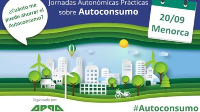 Jornada Gratuita sobre Autoconsumo en Menorca