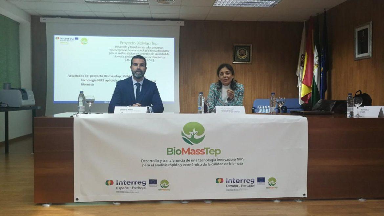 El proyecto europeo Biomasstep presenta una innovadora tecnología  para analizar la calidad de la biomasa