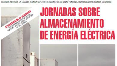 Jornadas sobre almacenamiento de energía eléctrica
