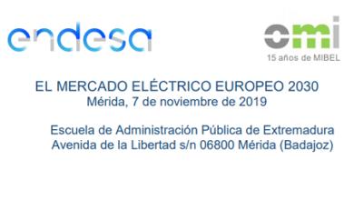 El mercado eléctrico Europeo 2030