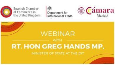 Webinar: Ministro de Estado de Política Comercial de Reino Unido