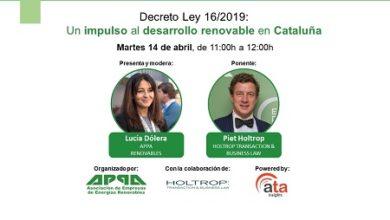 Decreto Ley 16/2019: Un impulso al desarrollo renovable en Cataluña