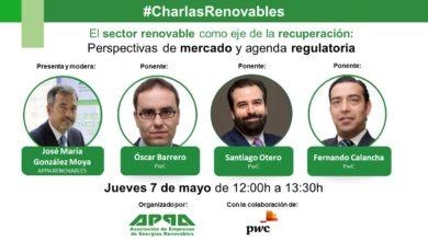 El sector renovable como eje de la recuperación: perspectivas de mercados y agenda regulatoria
