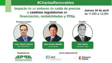 Impacto de un entorno de caída de precios y cambios regulatorios en financiación, rentabilidad y PPAs