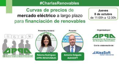 #CharlasRenovables – Curvas de precios de mercado eléctrico para financiación de renovables