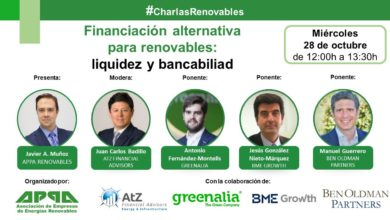 Financiación alternativa para renovables: liquidez y bancabilidad