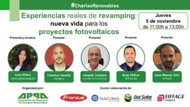 #CharlasRenovables – Experiencias reales de revamping: nueva vida para los proyectos fotovoltaicos